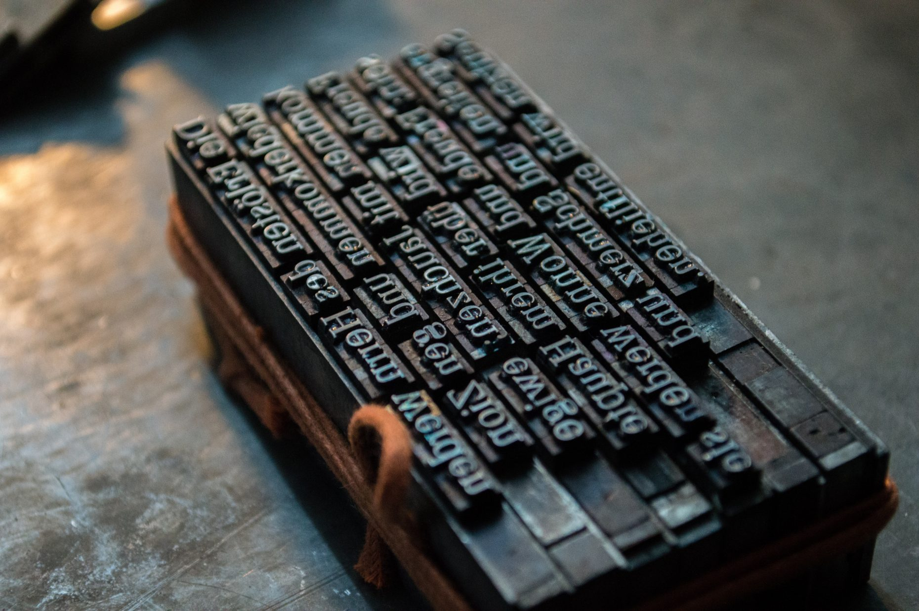 Early Print Block